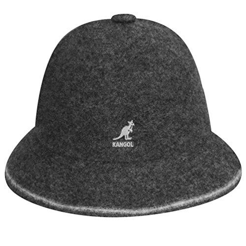 Flannel Dark Kangol - Kangol Men's Stripe Casual Hat, Flannel/Off White, S