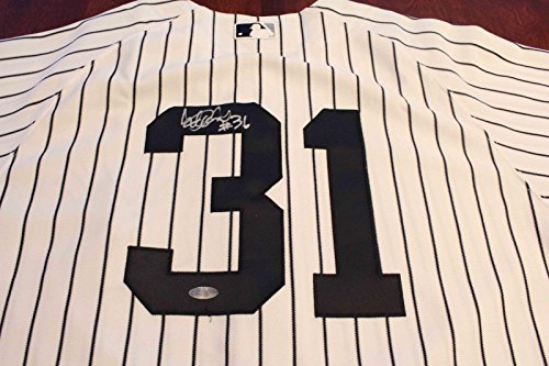 New York Yankees Ichiro Suzuki Game Used Signed Home Jersey Kansas City - Steiner Sports Certified - MLB Game Used Jerseys