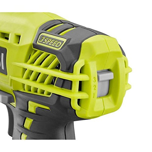 (Ryobi P237 18V One+ Lithium Ion Cordless Multi Speed 1-1/4 Inch Keyless Chuck Impact Driver  w/ Belt Clip and LED (Battery Not Included / Power Tool Only) )