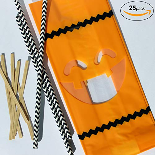 Bakers Bling Halloween Party Pack - 25pcs. Cellophane