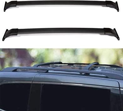 ECCPP Roof Rack Cross Bars Luggage Cargo Carrier Rails Fit for 2011 2012 2013 2014 2015 Ford Explorer Sport Utility,Aluminum