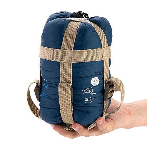 - Sunuo Ultra-Light Envelope Travel Sleeping Bags,Outdoor Climbing Camping Portable Thin Waterproof Sleeping Bags (Dark Blue)