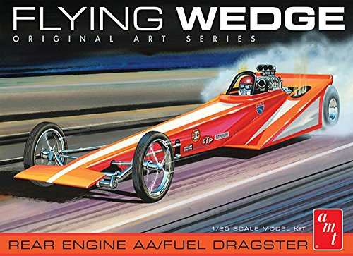 AMT AMT927 1:25 Flying Wedge Dragster-Original Art Series, Scale