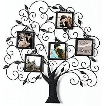Amazon.com - Large Family Tree with 10 Hanging Photo Frames -