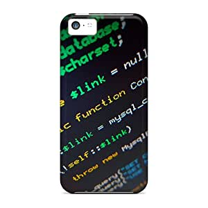 QpkglYc2896HhWQx MarilouLCarlson Lines Of Code Durable Iphone 5c Tpu Flexible Soft Case