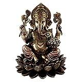 King Tut's Secret Ganesha Hindu Elephant Statue, Multicolor
