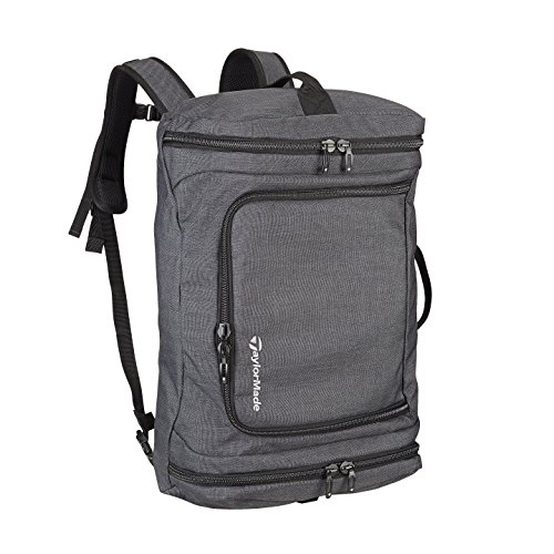 TaylorMade 2019 TaylorMade 2019 Golf Players Duffle Backpack (Charcoal/Black)