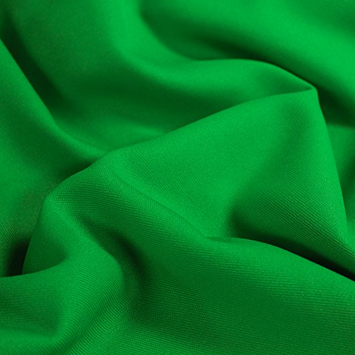 Green Solid 60'' Poly Gabardine Fabric by the Yard for sale  Delivered anywhere in USA