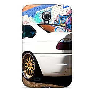 Anti-scratch And Shatterproof Bmw M3 E46 Phone Case For Galaxy S4/ High Quality Tpu Case