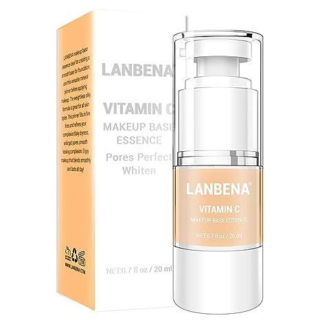 Amazon Com Lanbena Face Vitamin C Make Up Base Serum Makeup