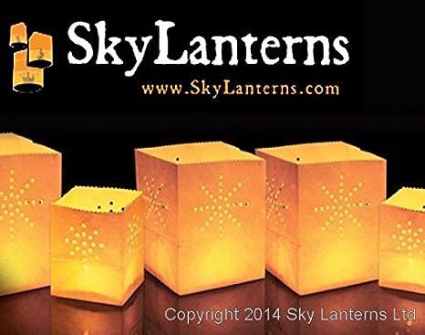 Amazon.com: Bolsas de 12 x Mini vela blanco – tamaños: 6 ...