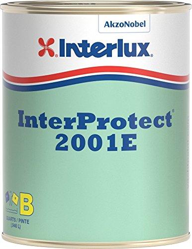 Interlux Primers (Interlux Y2000EKIT/QT InterProtect 2000E Epoxy Primer Kit (Gray), 32. Fluid_Ounces)