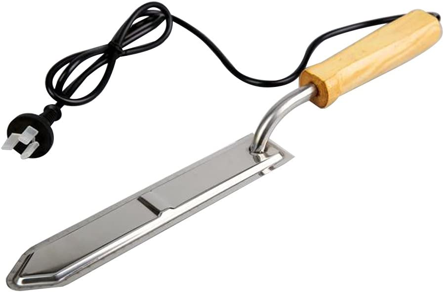 MUDUOBAN Electric Stainless Steel Uncapping Knife