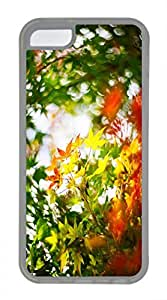 iPhone 5c case, Cute Maple Leaf 2 iPhone 5c Cover, iPhone 5c Cases, Soft Clear iPhone 5c Covers