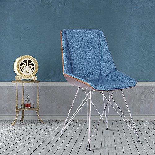 armen-living-lcpachwabl-pandora-chair-with-walnut-wood-fabric-upholstery-chrome-finish-blue
