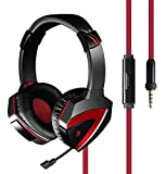 G500 Lightweight Combat Gaming Headset with Retractable Microphone and Noise Cancellation, 40mm Dual Drivers | Anti-Tangle Cord | Memory Foam Lining | Cushioned Ear Pads – Compatible Across Platforms Review