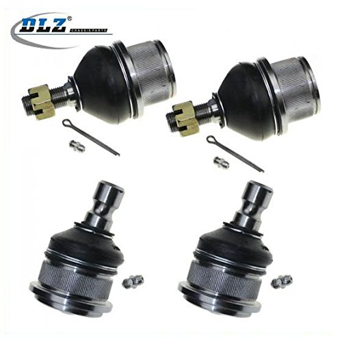 dlz-4-pcs-front-suspension-kit-2-upper-2-lower-ball-joints-passenger-driver-side-for-2002-2004-2005-