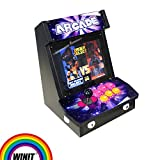 Wintex 1299 in 1 Mini Arcade Video Game Machine Console Pandora's Box 5s Tabletop Bartop New(9inch LCD)