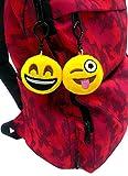 OHill 36 Pack Emoji Plush Pillows Mini Keychain