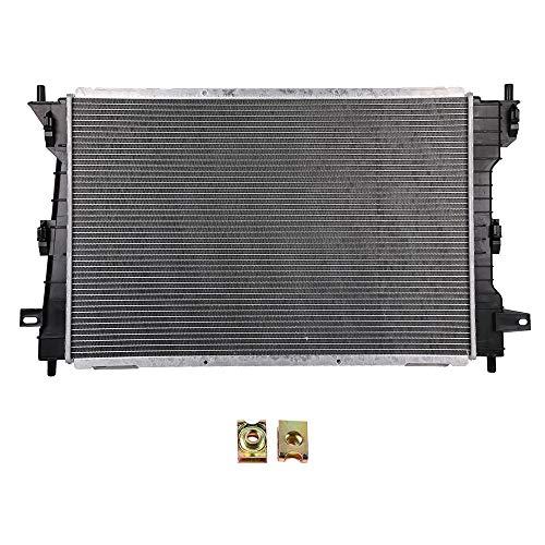 SCITOO Radiator Compatible with 1998-2002 Ford Crown Victoria Lincoln Town Car Mercury Grand Marquis CU2157