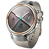 Asus Zen Watch 3 [WI503Q-2RBGE0015] 1.39'' Android Silver Face with Beige Rubber Strap