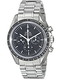 Men's 31130423001005 Speedmaster Analog Display Mechanical Hand Wind Silver Watch