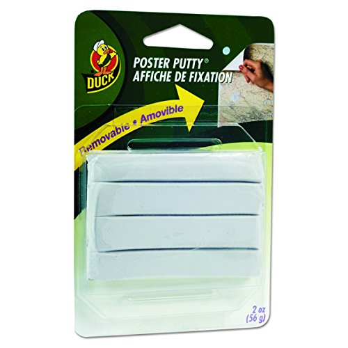 Duck Brand Removable Mounting Poster Putty, 2 oz., White (1436912)