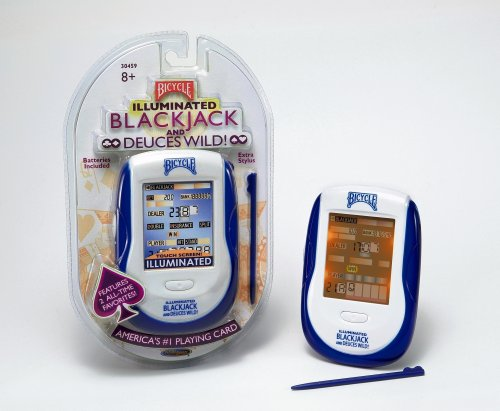 Techno Source Bicycle Illuminated Touch Screen Blackjack and Deuces Wild