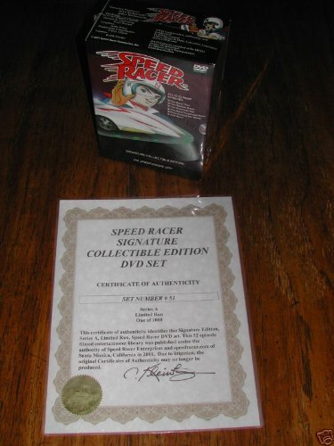 (Speed Racer Signature Collectible Edition: All 52 Classic Episodes)