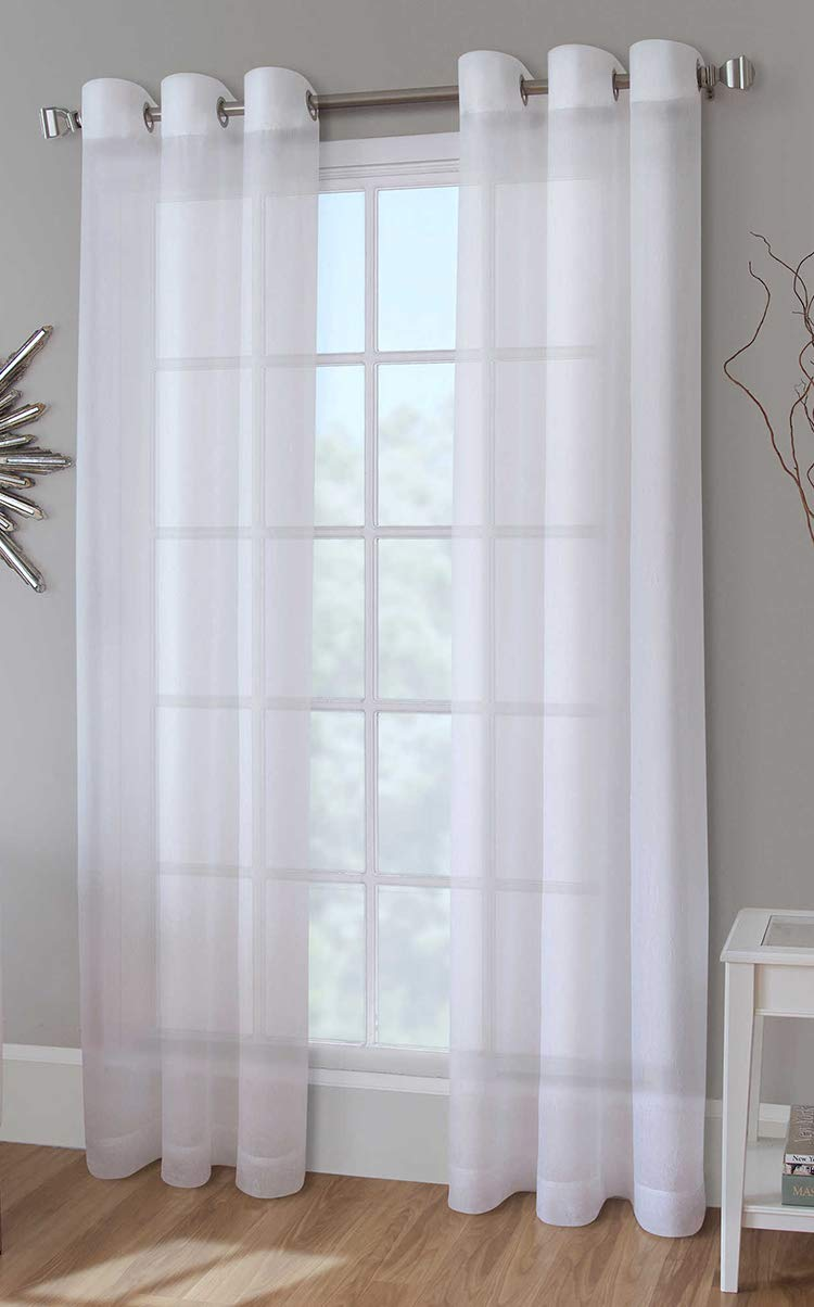 "United Curtain CRS84NT Cranston Window Curtain Panel Pairs, 100"" X 84"", Natural,100"" X 84"" - 100Percent polyester Machine wash cold, tumble dry low, cool iron if needed, never bleach One pair of panels; one package contains two panels - living-room-soft-furnishings, living-room, draperies-curtains-shades - 51xws7gq7dL -"