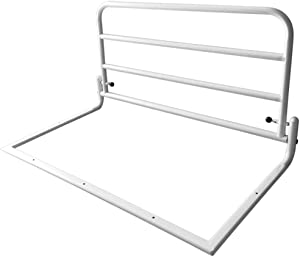 Household Products Healthcare Easy Fit Bed Rail,Safety Assist Handle Wellness Easy Get Up Support,Folding Bedside Grab Bar Bumper for Elderly Seniors Adults Children Guard Rails