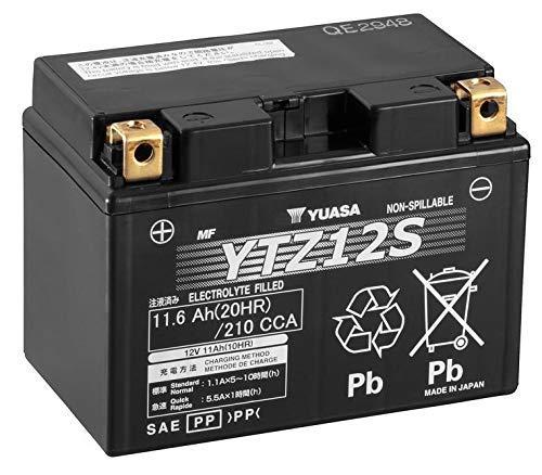 Yuasa-Batterie YTZ12S moto
