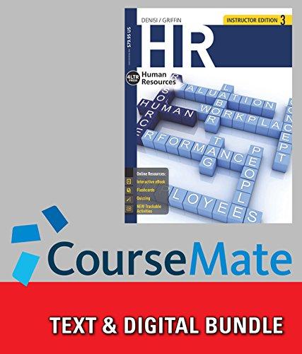 Bundle: HR, 3rd + CourseMate, 1 term (6 months) Access Code