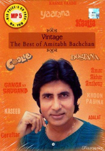 Vintage - The Best of Amitabh Bachchan (5 CD Set)