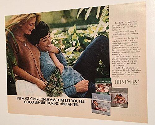1982 Lifestyles Condoms Magazine Print Advertisement