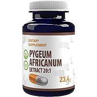 Pygeum Africanum 20000mg Equivalent (100mg av 20:1 extrakt) 90 Veganska kapslar, standardiserad till 13% fytosteroler…