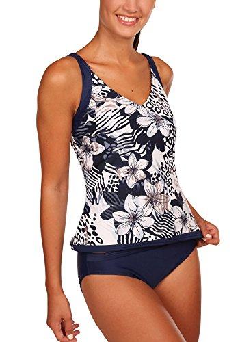 eleMar Damen Tankini Bikini