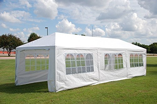 DELTA Canopies WDMT1230-12 x30 Wedding Party Tent with Metal Connectors