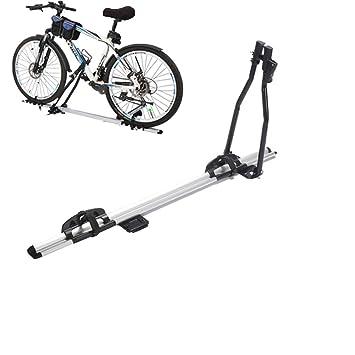 LYzpf Portabicicletas Techo Bicicleta Coche Enganche Almacenamiento Transporte Portátil Exterior Universal: Amazon.es: Deportes y aire libre