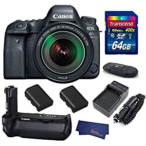 51xwuVJuI4L. SS300  - Canon EOS 6D Mark II (with 24-105mm is STM BG-E21 Grip Bundle)