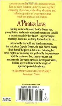 A Pirate S Love Johanna Lindsey 9780380400485 Amazon border=