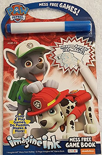 Paw Patrol Imagine Ink Picture Book (Homemade Christmas Costume Ideas Men)