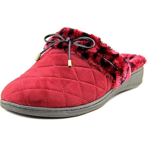 Pantofole Vionic Piacevoli Da Donna Con Supporto Ad Arco - Vino Tecnologia Orthaheel