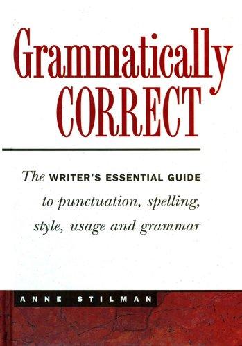Grammatically Correct