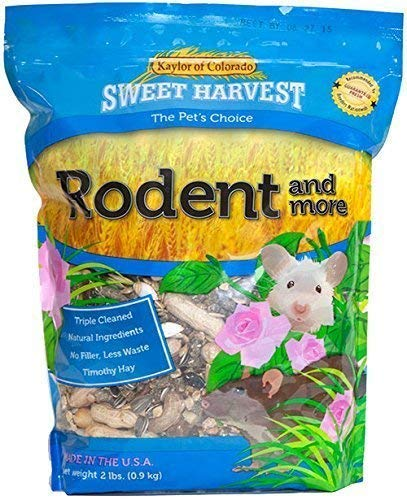 Sweet Harvest Rodent And More Rodent Food