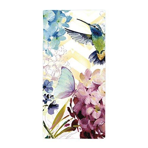 Tamengi Birds and Butterflies in The Flowers Supper Absorbent Microfiber Towel 3060cm
