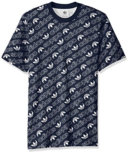 adidas Originals Mens Monogram All Over Print Tee