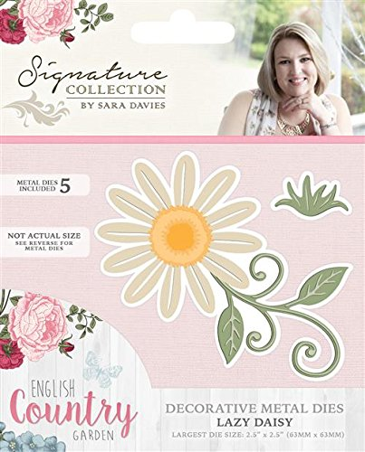 Sara Signature English Country Garden Lazy Daisy metal die Crafter' s Companion S-ENG-MD-DAIS