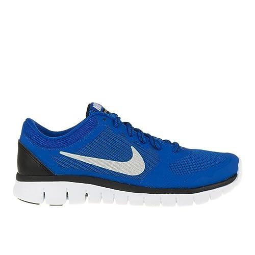 Nike - Flex Run 2015 GS - 724988400 - El Color: Azul - Talla: 38.5: Amazon.es: Zapatos y complementos