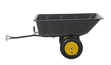polar trailer lg7 lawn and garden utility cart load size 10 cubic feet